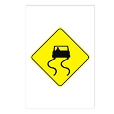 Slippery When Wet Postcards (Package of 8)