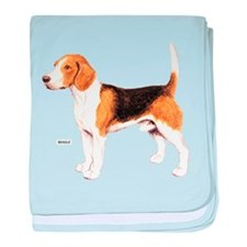 Beagle Dog baby blanket