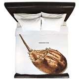 Horseshoe Crab King Duvet