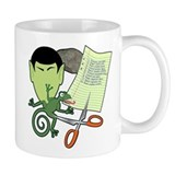 Rock Paper Scissors Lizard Spock Coffee Mug