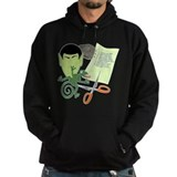 Rock Paper Scissors Lizard Spock Hoodie