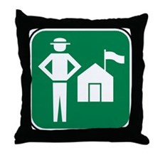 Ranger Throw Pillow