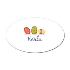 Easter Egg Karla Wall Decal