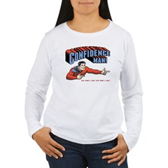 Confidence Man! Women's Long Sleeve T-Shirt