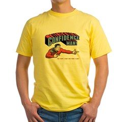 Confidence Man! Yellow T-Shirt