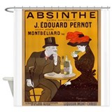 Absinthe Edouard Pernot Shower Curtain
