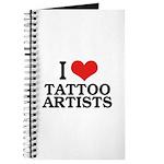 I Love Tattoo Artists Journal