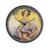 Classic Elvgren 1950s Vintage Pin Up Girl Wall Clo