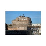 Castel Sant Angelo Rectangle Magnet (10 pack)