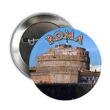 "Castel Sant Angelo 2.25"" Button"