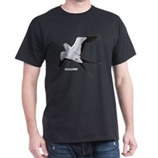Swallow-Tailed Kite Bird T-Shirt