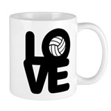 Love Volleyball Tasse