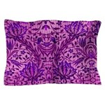 Pillow Case-Purple Paisley Design