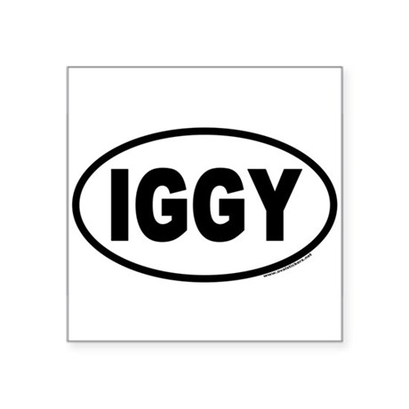 IGGY Euro Oval Sticker