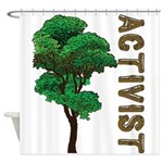 Activist Shower Curtain