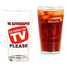 TV STAR Drinking Glass