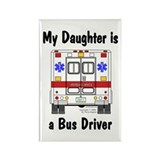 Bus Driver Daughter Rectangle Magnet