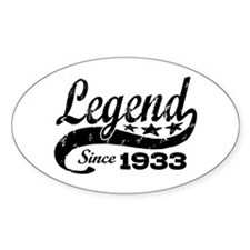 Legend Since 1933 Decal