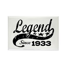 Legend Since 1933 Rectangle Magnet