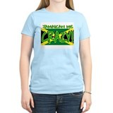 JAMAICA SHIRT, JAMAICAN ME CR Women's Pink T-Shirt