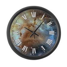 Rosette Nebula Large Wall Clock