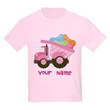 Personalized Jelly Bean Truck T-Shirt