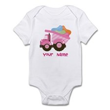Personalized Jelly Bean Truck Infant Bodysuit