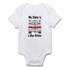 Bus Driver Sister Infant Creeper