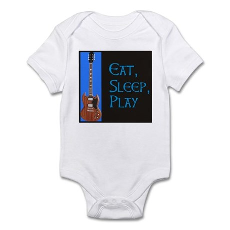 EAT,SLEEP,PLAY GUITAR Infant Bodysuit