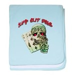 Jump Out Boys baby blanket