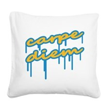 carpe_diem Square Canvas Pillow