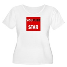 youtube star Plus Size T-Shirt