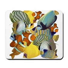 Fish Party Mousepad