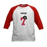 Pirate Seventh Birthday Baseball Jersey
