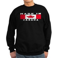 Canada Made In Sweatshirt