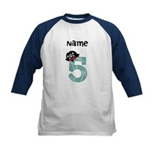 Pirate Fifth Birthday Baseball Jersey