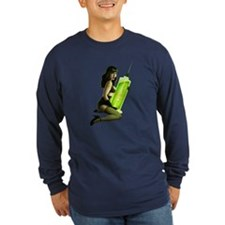 Type o negative pin up Long Sleeve T-Shirt