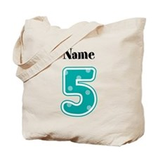 Personalized 5 Tote Bag