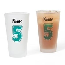 Personalized 5 Drinking Glass