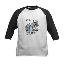 Turn and Burn Barrel Racing Baseball Jersey