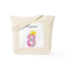 Personalized Princess 8 Tote Bag