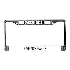 Bark License Plate Frame