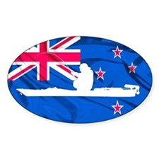 New Zealand Kayak Angler - Euro Decal