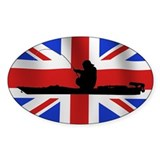 British Kayak Angler - Euro Decal