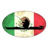 Mexican Kayak Angler - Euro Decal
