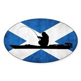 Scottish Kayak Angler - Euro Decal