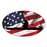 American Kayak Angler - Euro Decal