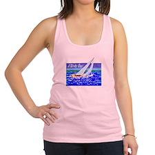 A Windy Day/t-shirt Racerback Tank Top