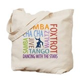 Ballroom Dancing DTWS Tote Bag