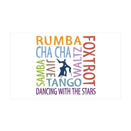 Ballroom Dancing DTWS 35x21 Wall Decal